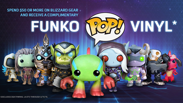Gear Store Offering Free Funko Pop Vinyl With 50