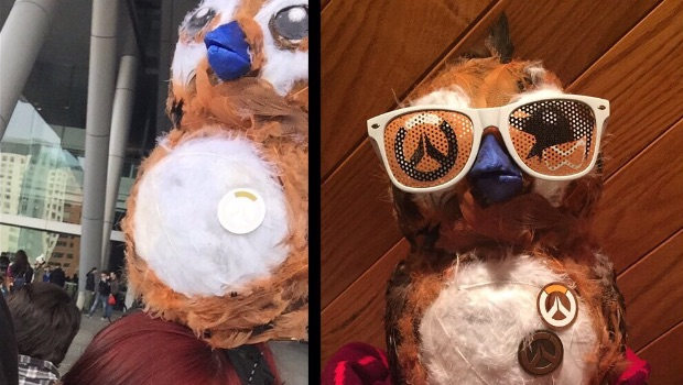 Tracimoc's Pepe cosplay makes a splash at PAX