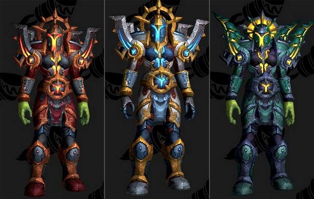 Holy Paladin Tier 18 Datamined Armor Sets