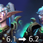 Patch 6.2: Night Elf and Human model updates