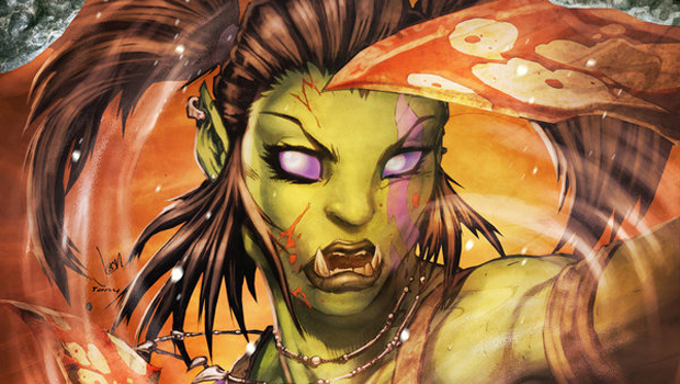 know your lore  garona and the horde