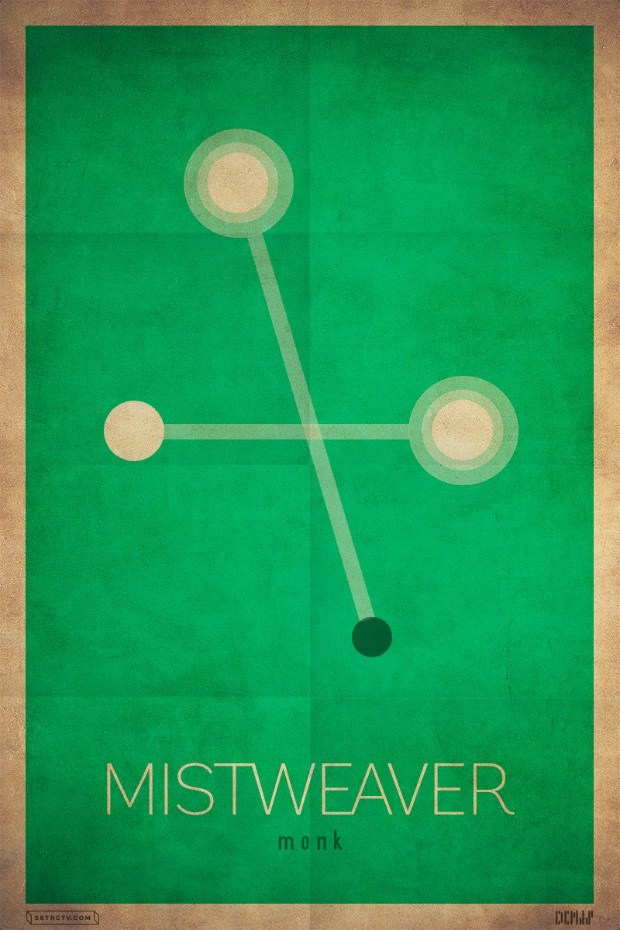 Blizzcrafts minimalist posters break down your wow spec for Who started minimalism
