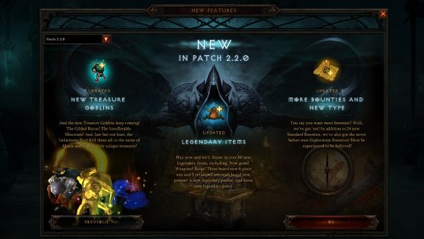 Diablo 3 Patch 220 Is Now Live Blizzard Watch