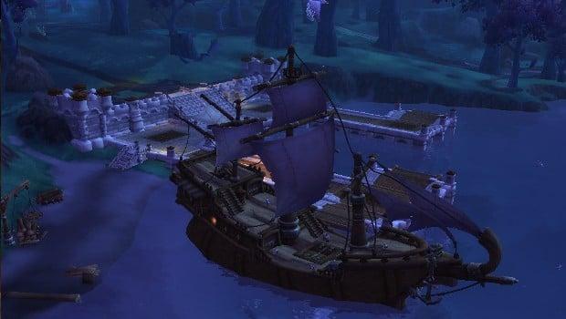 Garrison Shipyard wow Missões navais