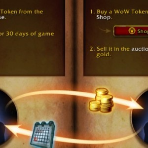 how to use wow token