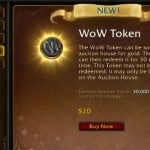 WoW Token and speculation