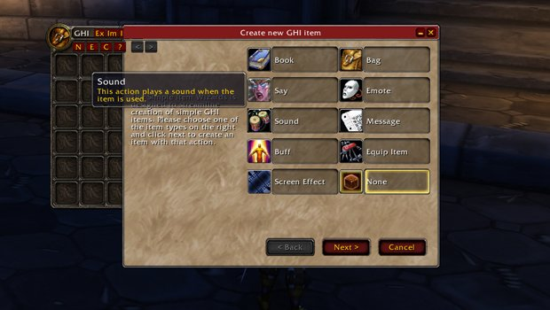 Role Play: Roleplaying addons