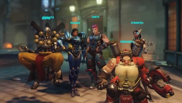 Overwatch previews Mercy and Zenyatta gameplay