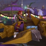Hit up the Darkmoon Faire in WoW this week to grind rep for flying