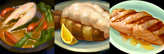 High Resolution Food Icons