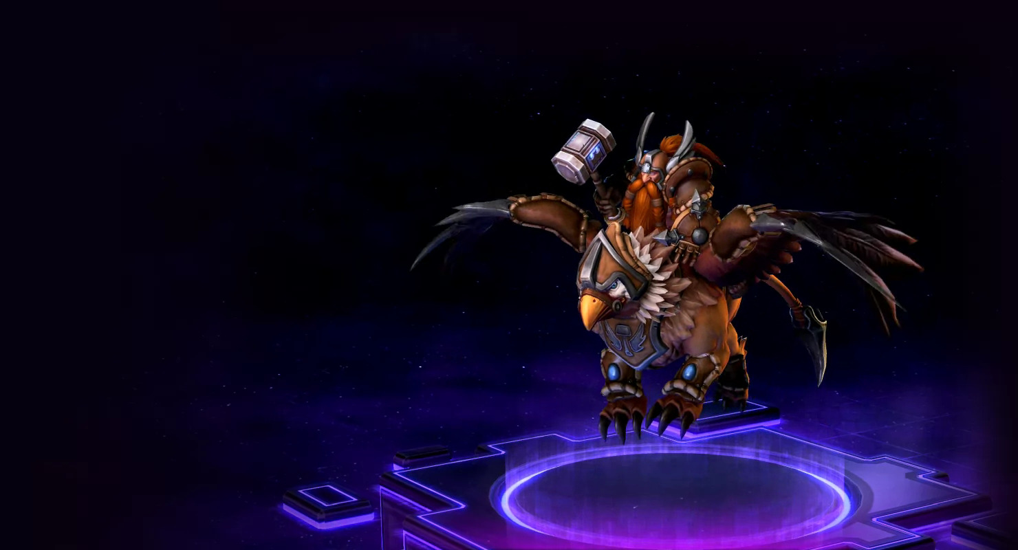 Heroes of the storm falstad skins blizzard watch - Heroes of the storm space lord leoric ...
