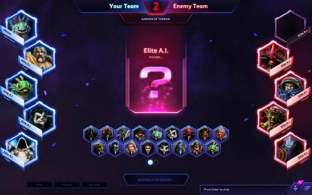 heroes-hero-league-draft-pick