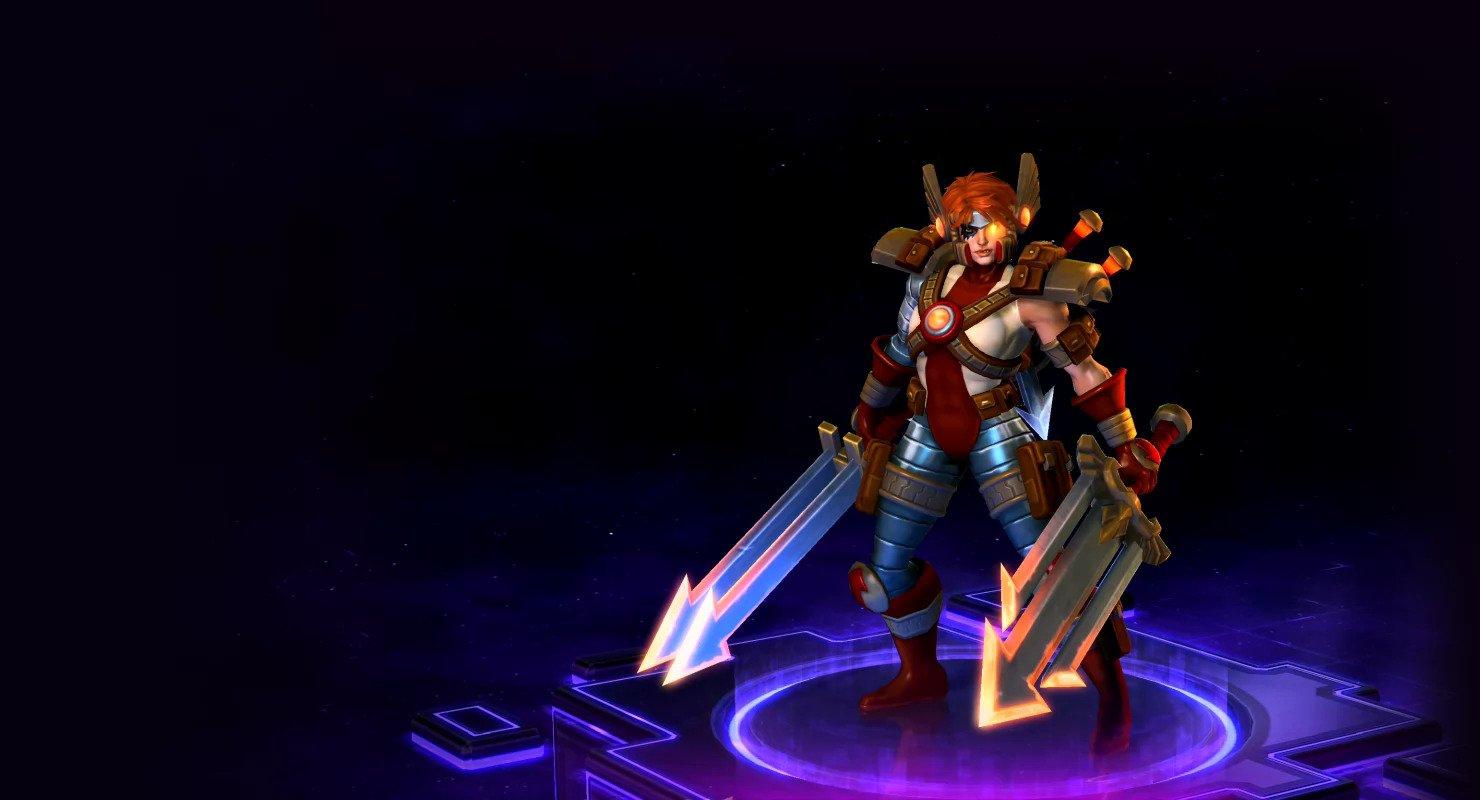 Heroes Of The Storm Sonya