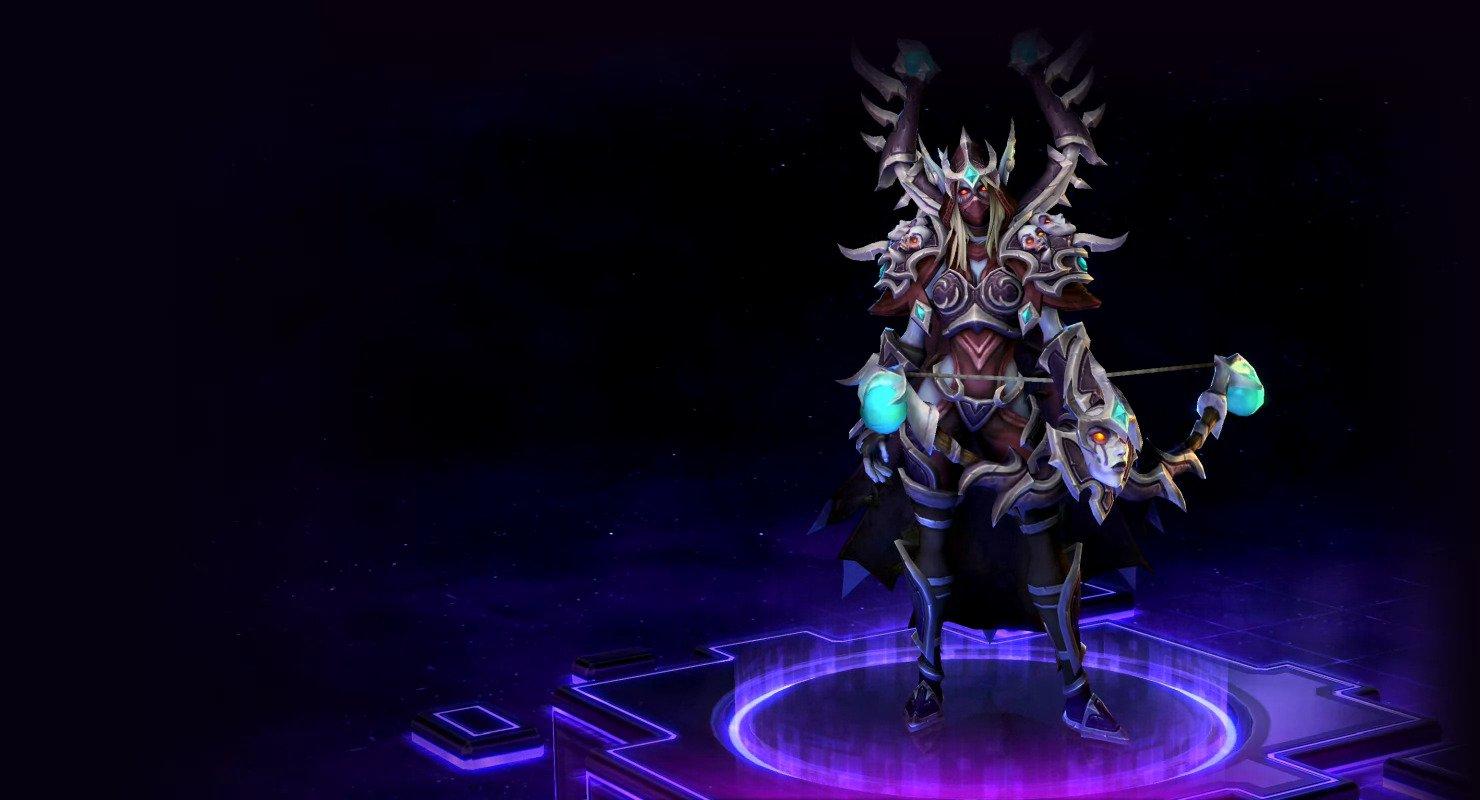 Warcraft 3 sylvanas skin softcore toons