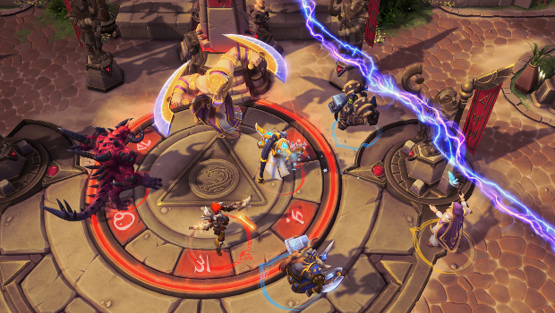 heroes of the storm objective sky temple
