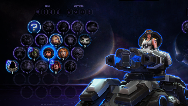 heroes of the storm select hammer
