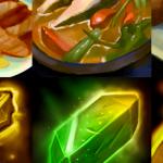 Warcraft icons illustrate intricate artwork