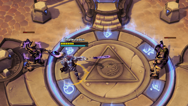sylvanas locking down 2 dudes heroes of the storm sky temple
