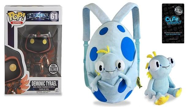 Demon Tyrael and Murky Backpack