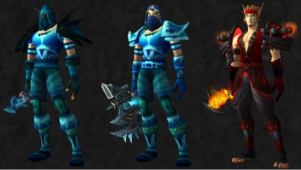 Leather sets & Celebrate Midsummer with these themed transmog sets