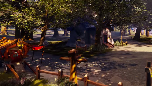 Elwynn Forest rendered in Unreal Engine