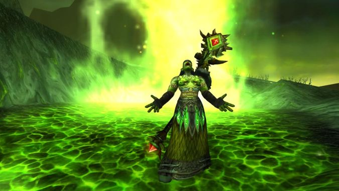 green fighting machine