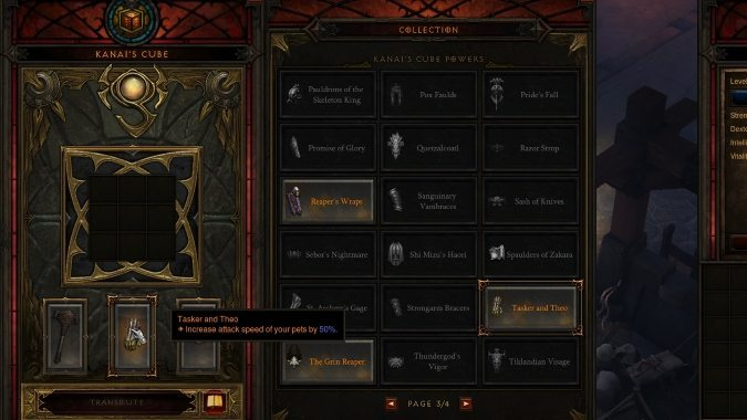 Overview of Kanai's Cube in Diablo 3