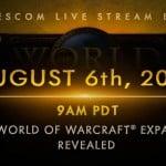World of Warcraft expansion announcement liveblog
