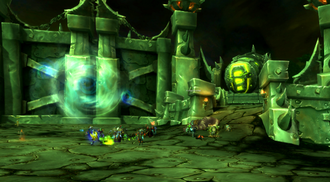 ... : Tanking tips for the Hellbreach and Halls of Blood | Blizzard Watch