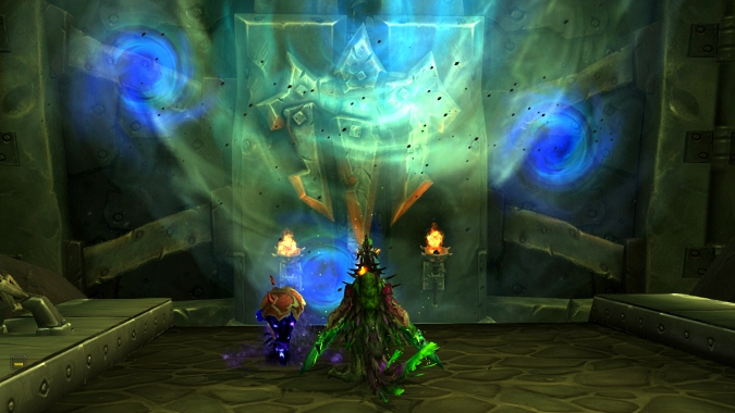 Hellfire Citadel's Hellbreach and Halls of Blood for Warlocks