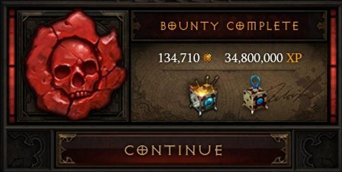 Bounty Complete