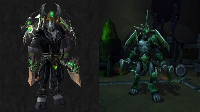 Legion Plate & Join the Legion with these Hellfire Citadel-themed transmogs