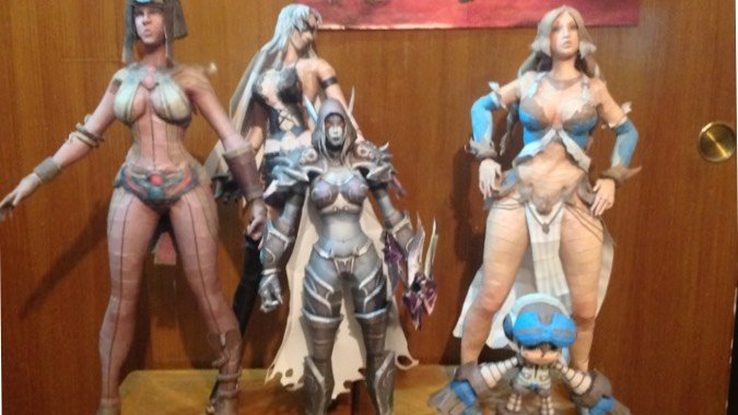blizzcrafts papercrafts collection