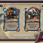 The Grand Tournament showcases new Legendary cards Rhonin and Varian Wrynn