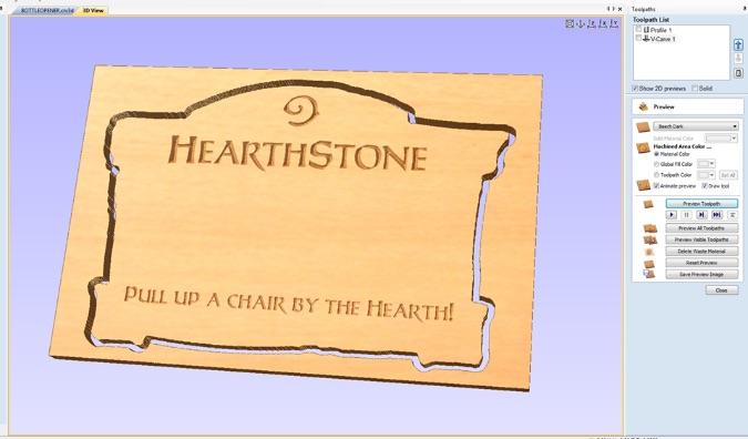 hearthstone woodworking design