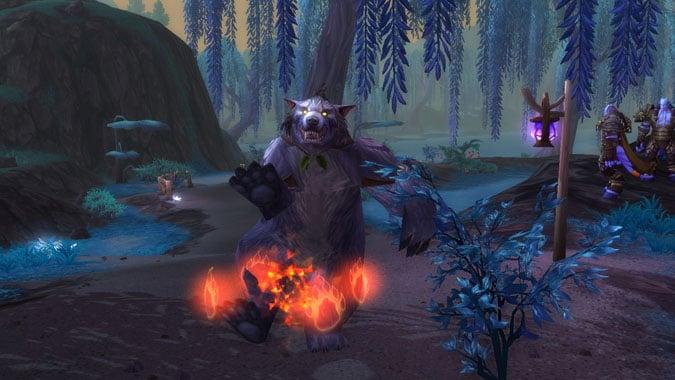 A bear dances with Survival Instincts