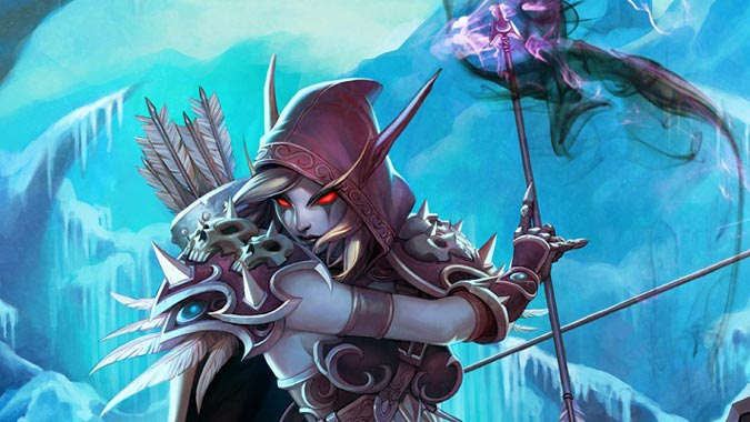 Dark_Lady_Sylvanas_Windrunner_wow_TCG