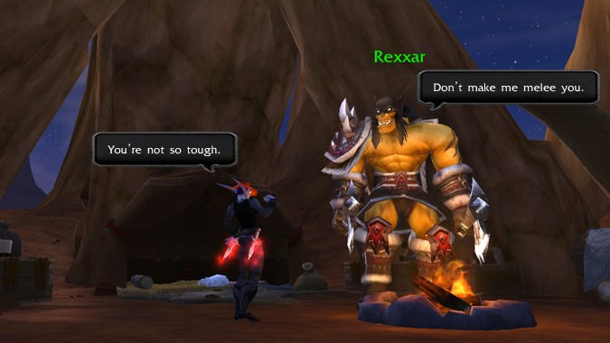 Rfeann vs. Rexxar: The Prequel