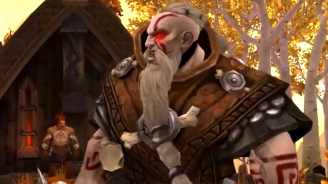 The Vrykul, the Curse of Flesh, and the origins of Humanity