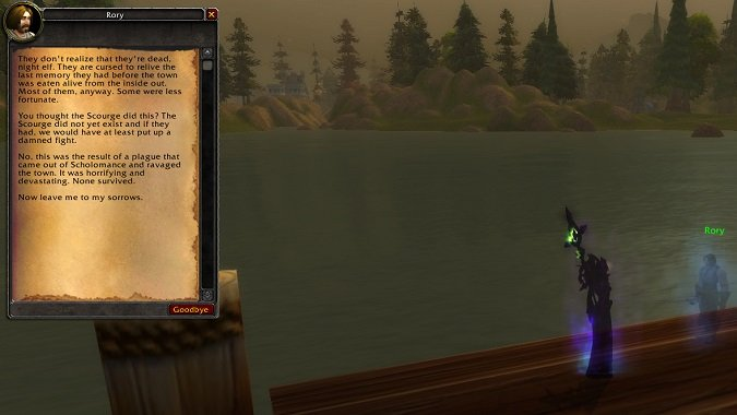 The hidden ghosts of World of Warcraft