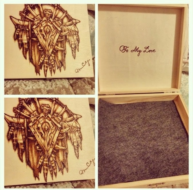 blizzcrafts wood burning