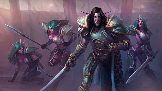 Know Your Lore: Jarod Shadowsong and the War of the Ancients