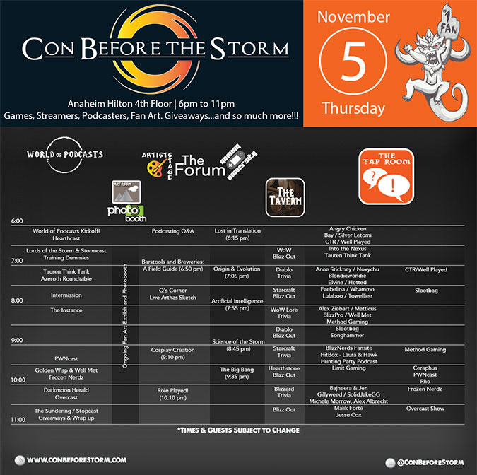 CBTS-Schedule