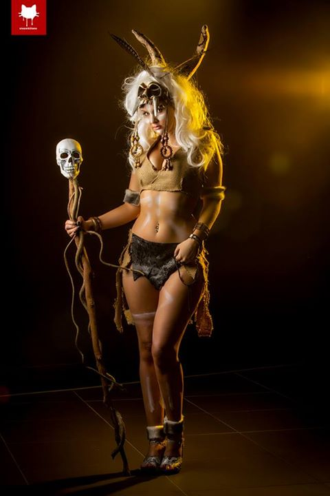 Madison Avery Diablo Iii Witch Doctor Steamkittens Photography