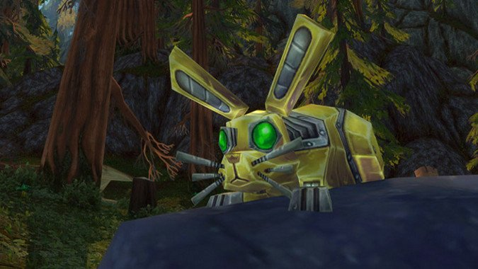 Gnome Hunters bring Mechanical pets to Warcraft