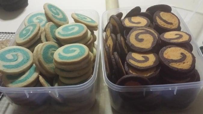 blizzcrafts hearthstone swirl cookies