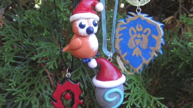 This Santa Pepe ornament is sure to make your holiday bright