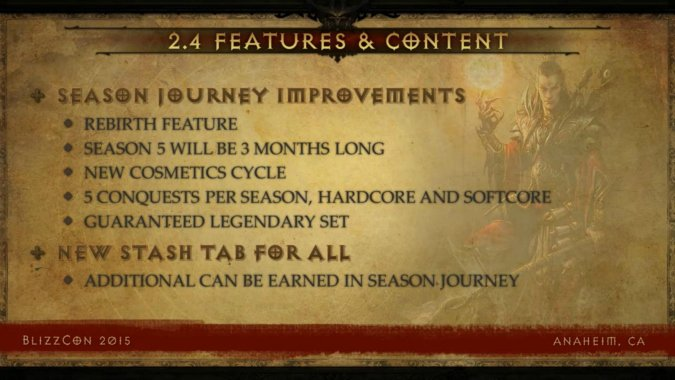 BlizzCon 2015: The future of Diablo 3 is patch 2 4