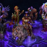 Heroes skins in development include Corrupter Cho'Gall and Ringmaster Greymane