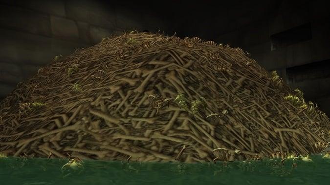 karazhan crypts bone pile